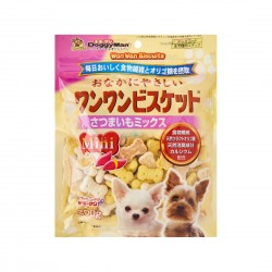 Doggyman Dog Treat Mini Milk & Potato Biscuit 200g