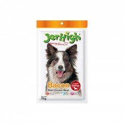 Jerhigh Dog Treat Bacon 70g