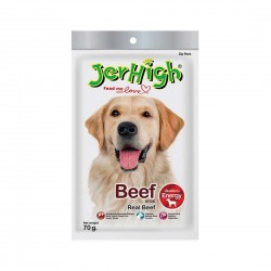 Jerhigh Dog Treat Beef 70g