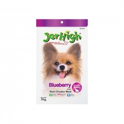 Jerhigh Dog Treat Blueberry 70g