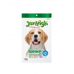 Jerhigh Dog Treat Spinach 70g