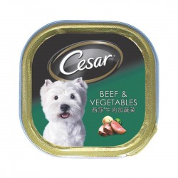 Cesar Dog Wet Food Beef with Vegetables 100g