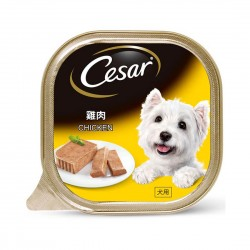 *Mdm Wong's Shelter* Cesar Dog Wet Food Chicken 100g (24 cans)
