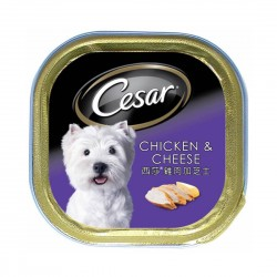 Cesar Dog Wet Food Chicken & Cheese 100g