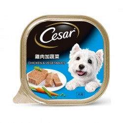 Cesar Dog Wet Food Chicken & Vegetables 100g