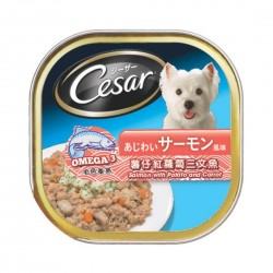 Cesar Dog Wet Food Salmon with Potato & Carrot 100g