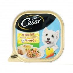 Cesar Dog Wet Food Whitefish with Vegetables 100g