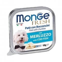 Monge Fresh Dog Wet Food Codfish 100g