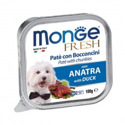 Monge Fresh Dog Wet Food Duck 100g