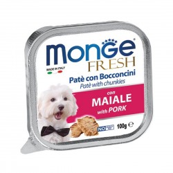 Monge Fresh Dog Wet Food Pork 100g