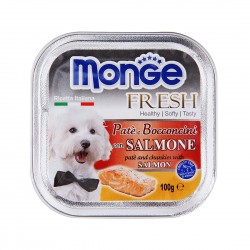 Monge Fresh Dog Wet Food Salmon 100g