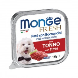 Monge Fresh Dog Wet Food Tuna 100g