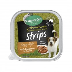 Nature's Gift Dog Tray Food Beef, Vegetables & Barley 100g