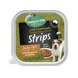 Nature's Gift Dog Tray Food Kangaroo in Gravy 100g