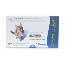 Revolution Parasiticide for Cat 3 Doses 5.1-15lb