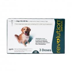 Revolution Parasiticide for Dog 3 Doses 40.1-85lb