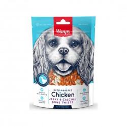 Wanpy Dog Treat Oven Roasted Chicken Jerky Bar 100g