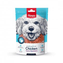 Wanpy Dog Treat Oven Roasted Chicken Sausages 100g
