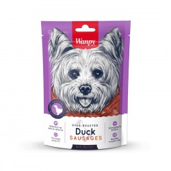 Wanpy Dog Treat Oven Roasted Duck Sausages 100g
