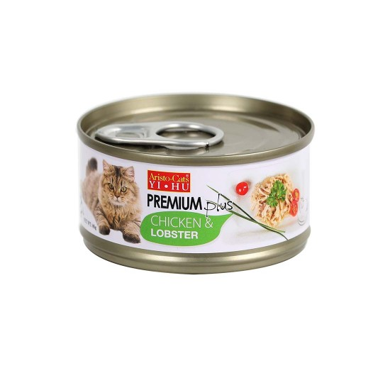 Aristo Cats Cat Canned Food Premium Plus Chicken & Lobster 80g