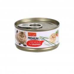 Aristo Cats Cat Canned Food Premium Plus Chicken & Red Snapper 80g