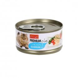 Aristo Cats Cat Canned Food Premium Plus Chicken & Sea Bream 80g