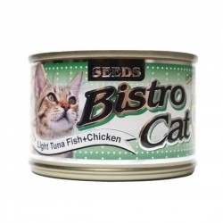 Bistro Cat Canned Food Light Tuna Fish & Crab 170g