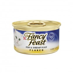 Fancy Feast Cat Canned Food Fish & Shrimp Flake 85g