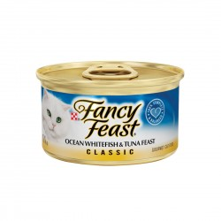Fancy Feast Cat Canned Food Ocean Whitefish & Tuna 85g