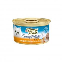 Fancy Feast Cat Canned Food Chicken with Milk 85g