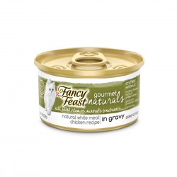 Fancy Feast Cat Canned Food Gourmet Naturals Chicken in Gravy 85g