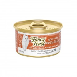Fancy Feast Cat Canned Food Gourmet Naturals Salmon Pate 85g