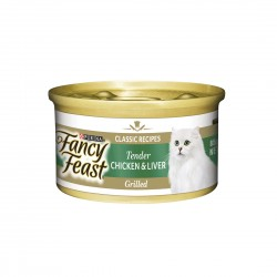 Fancy Feast Cat Canned Food Tender Liver & Grilled Chicken 85g