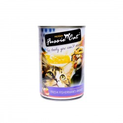 Fussie Cat Canned Food Fisherman's Basket 400g
