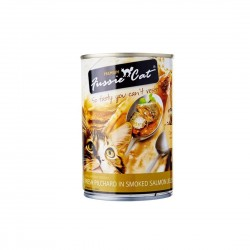 Fussie Cat Canned Food Pilchard in Smoked Salmon Jelly 400g