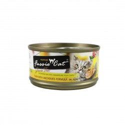 Fussie Cat Canned Food Premium Tuna with Anchovies in Aspic 80g