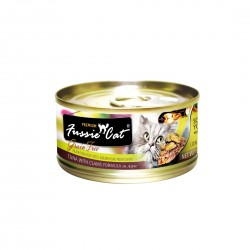 Fussie Cat Canned Food Premium Tuna with Clams in Aspic 80g