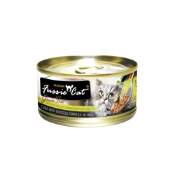 Fussie Cat Canned Food Premium Tuna with Mussels in Aspic 80g