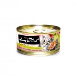 Fussie Cat Canned Food Premium Tuna with Prawn in Aspic 80g