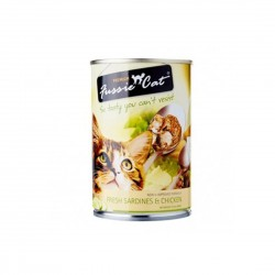 *Haus of Furries* Fussie Cat Canned Food Sardine & Chicken 400g (24 cans)