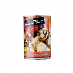 Fussie Cat Canned Food Sardine & Mackerel 400g