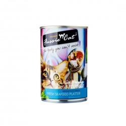 Fussie Cat Canned Food Seafood Platter 400g