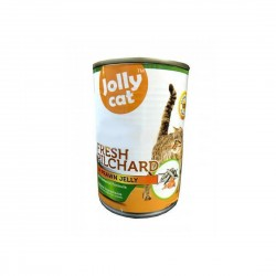 Jolly Cat Canned Food Fresh Pilchard in Prawn Jelly 400g