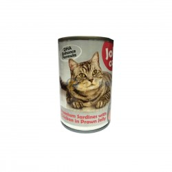 Jolly Cat Canned Food Premium Sardine with Chicken in Prawn Jelly 400g
