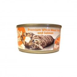 Jolly Cat Canned Food Premium White Meat Tuna & Salmon 80g