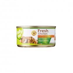 Jolly Cat Canned Food Fresh Minced Chicken & Shredded Tuna in Gravy 80g