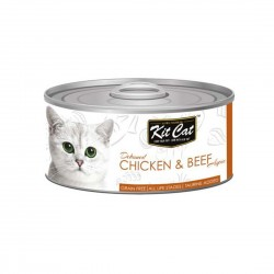 Kit Cat Canned Food Chicken & Beef 80g