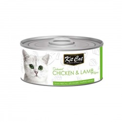 Kit Cat Canned Food Chicken & Lamb 80g