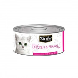 Kit Cat Canned Food Chicken & Prawn 80g
