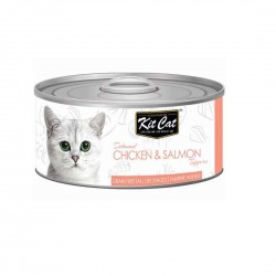 Kit Cat Canned Food Chicken & Salmon 80g